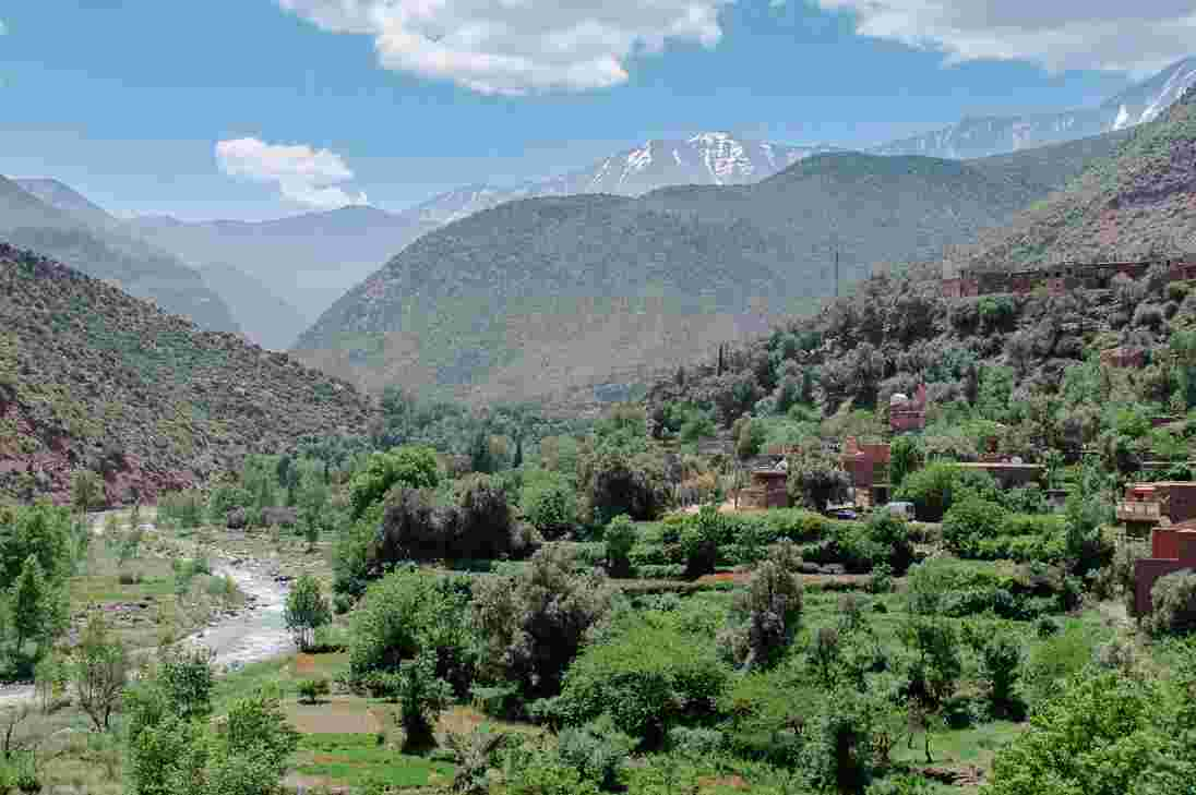 ourika valley marrakech